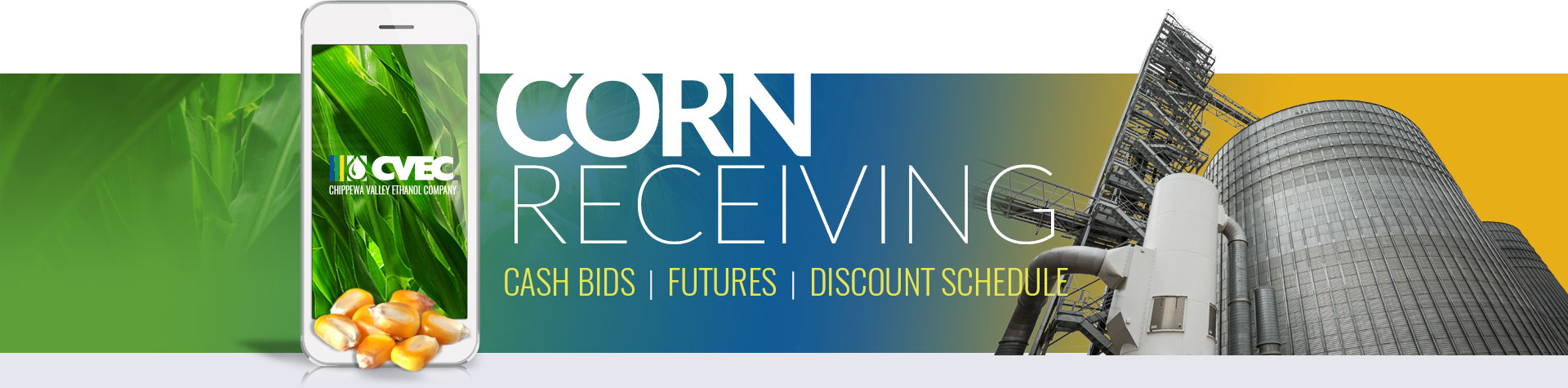 CORN DISCOUNT SCHEDULE